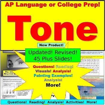 AP Language and Composition, Tone, Rhetorical Analysis