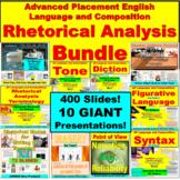 AP Language and Compositoin Rhetorical Analysis Bundle