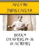 AP Latin Caesar Book 4.24-36 Activity Set