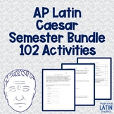 AP Latin Caesar COMPLETE BUNDLE