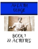 AP Latin Vergil Aeneid Book 1 Activity Set
