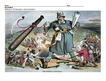 AP/Level- European vs U.S. Imperialism (Indirect vs Direct) Primary Source Anl