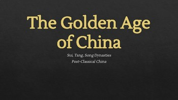 AP/Level Golden Age of China Lecture PPT