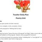 AP Level Poetry & Writing Unit