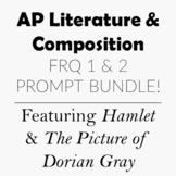 AP Lit 2 Prompt FRQ Essay Bundle Prose and Poetry Prompts