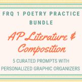 AP Lit FRQ 1 Poetry Prompt Practice Bundle