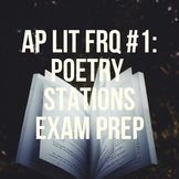 AP Lit FRQ #1 Poetry Stations Exam Prep