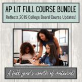 AP Lit Full Course Growing Bundle (AP Literature & AP English Lit)