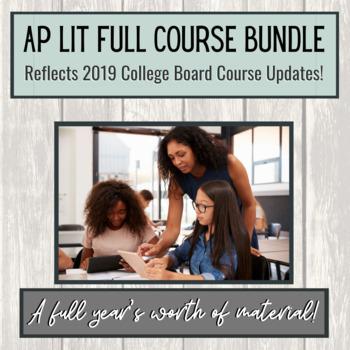 AP Lit Full Course Bundle