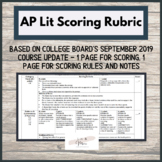 AP Lit On-Demand Scoring Rubric