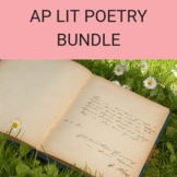 Poetry Bundle for AP Lit