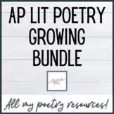 AP Lit Poetry Growing Bundle