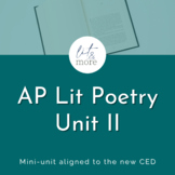 AP Lit Poetry II Bundle