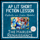 AP Lit Short Fiction Lesson and Gallery Walk - The Harlem