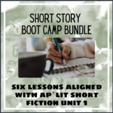 AP Lit Short Story Boot Camp Bundle