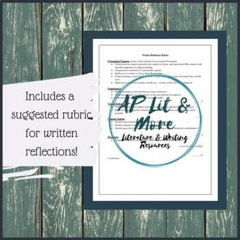 AP Literature Summer Reading Assignment