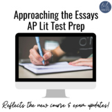 AP Lit Test Prep - Approaching the Essays