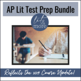AP Literature Test Prep Bundle