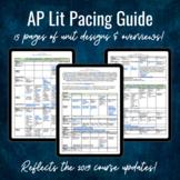 AP Lit Unit Calendar & Course Details