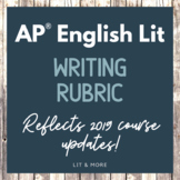 AP Lit Writing Rubric