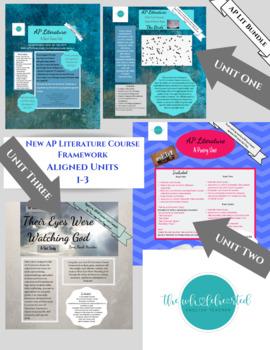 AP Literature 2019: New Course Framework: Units 1-3