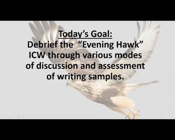 "AP Literature & Composition: 2006 ""Evening Hawk"" Poetry Prompt Debriefing"