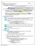 AP Literature Direct Prompt (Q1 & Q2) Deconstruction Tips Handout