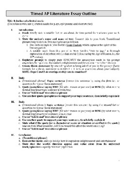 Essay Writing Topics For High School Students  What Is The Thesis Statement In The Essay also High School Admission Essay Examples Free Ap Literature Essay Guide Outline Expository Essay