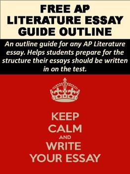 AP Literature Essay Guide Outline