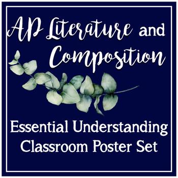 AP Literature Essential Understandings CED Class Poster Set