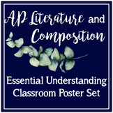 AP Literature Essential Understandings CED Class Poster Set