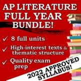 AP English Literature Full Year BUNDLE!