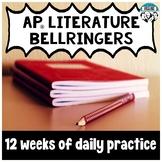 AP® Literature Grammar and Mechanics Bellringers