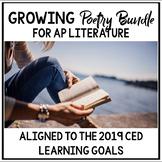 AP Literature Growing Poetry Bundle