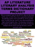 AP Literature Literary Analysis Terms Dictionary Project