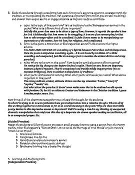 AP Literature Meter & Form in Poetry Lesson Plan