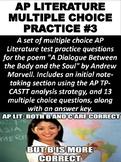 AP Literature Multiple Choice Practice #3