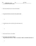 AP Literature: Novel/Play Review Sheet