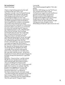 AP Literature Poetry Packet