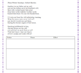 AP Literature Poetry Practice