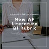 AP Literature Poetry Q1 Rubric (Aligned with 2019 standards)