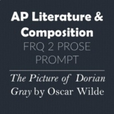 AP Literature & Composition Prose Prompt - The Picture of