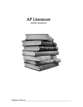 AP Literature Review Free Response Question Three