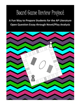 AP Literature Review Project: Q3 Board Game Review