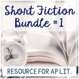 AP Literature Short Story Bundle 1: Short Stories with Fan