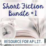 AP Literature Short Story Bundle 1: Short Stories with Fan