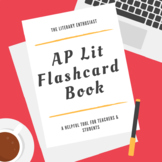 AP Literature - Terms & Tips Flashcard Book