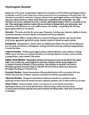 AP Literature The Color Purple Character Psychiatric Evaluations