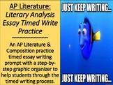 AP Literature Timed Essay Practice