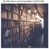 AP Literature Units Bundle